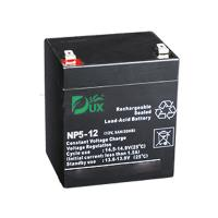 Wholesale Dux Battery AGM battery 12V 5AH lead acid battery VRLA battery long life battery seal acid maintenance free battery from china suppliers