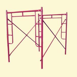 China Q235 Q345  H Frame Scaffolding System / walk through scaffolding on sale