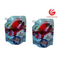 Wholesale Gravure Printing Surface Stand Up Spout Pouch Use Handling Shampoo Bags from china suppliers