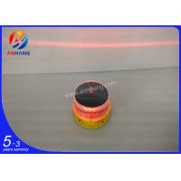 Solar powered LED aviation light/Solar obstruction light/obstacle light/Red flash aircraft warning light