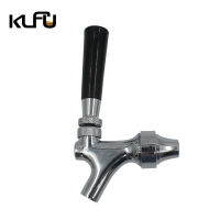Wholesale Chrome Plated Weight 1.5kg G5/8 Stainless Steel Beer Tap from china suppliers