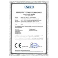 EB GLASS INDUSTRIAL Certifications