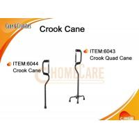 Wholesale Crook Cane / Crook Quad Cane from china suppliers