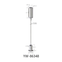 Wholesale Brass Cable Hanging System Painted Black With A Wire Manager YW86345 from china suppliers