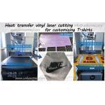 China Unikonex laser cutting heat transfer vinyl for customizing T-shirt for sale