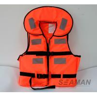 China New Working Life Vest Marine Life Jacket Foam Personal Floating Vest on sale