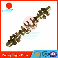 Wholesale excavator parts in the China, Mitsubishi 6D20 6D22 crankshaft ME999368 ME999367 for HD880 from china suppliers