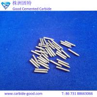 Buy cheap Extreme Hardness Cheap Tungsten Carbide Pins Tips Of Various Sizes from wholesalers
