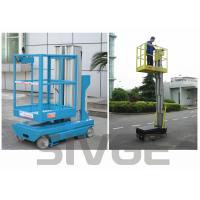 Wholesale Self Driven Hydraulic Lift Ladder 5m Working Height Dual Mast For Auto Stations from china suppliers