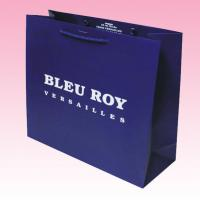 China custom promotional recyclable full color paper bag distributors with all kinds size for sale