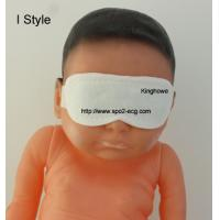 China Medical Surgical Phototherapy Eye Mask Sweat Absorption With Hook Section for sale