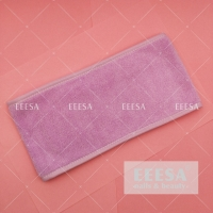 Wholesale Custom Logo Microfibre Cotton Purple Headscarf Head Band Salon Towel from china suppliers