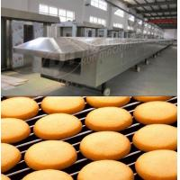 Wholesale Gas tunnel oven 1000mm width Large Scale industrial baking equipment tunnel oven for cookie biscuit cake bread from china suppliers