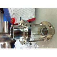 China 316L 304 Stainless Steel Sanitary Fittings Sight Glass For Chemical Industries on sale