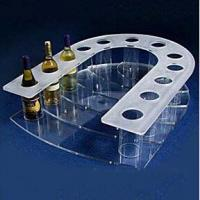 Wholesale customized Acrylic wine bottle display rack from china suppliers
