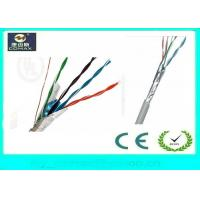 China Indoor FTP Cat5e Network Cable , Color Customized Gigabit Ethernet Cable on sale