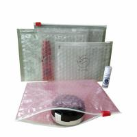 Quality Customized size and printing pink custom plastic waterproof packaging ziplock for sale