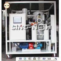 Automatic Double Stage Transformer Oil Filtration Machine With PLC Control Fully Touch Screen for sale