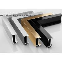 Wholesale Wide Edge Metal Aluminium Picture Frame Mouldings For Gallery from china suppliers