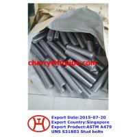 China ASTM A479 UNS S31803 Stud bolts on sale
