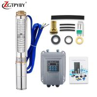 China 400w 48v submersible  dc solar pump day life brushless solar water pump on sale