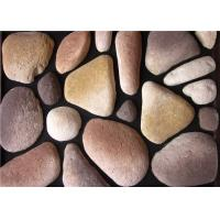 Aritificial culture cobble stone for wall decoration, with size and color customized