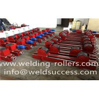 Wholesale 20T Pipe Weding Rotator Lead Screw Welding Turning Rolls For Oil Tank/Wind Tower Welding from china suppliers