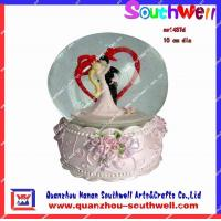 Wholesale resin wedding snow globes from china suppliers