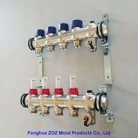 China Radiant Floor Heating Stainless Steel Manifolds Systems , Stainless Steel UFH Manifold for sale