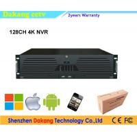 Best 128CH P2P onvif NVR, 16pcs HDD SATA 64channel 4K Network Video Recorder wholesale