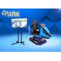 China Environmental Bluetooth Warrior 9D VR Simulator / Car Racing Game Machine for sale