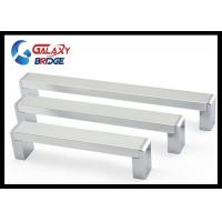 Solid 192mm Kitchen Aluminium Cabinet Handles Square Cupboard Pull