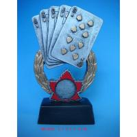 Wholesale polyresin gambling trophy from china suppliers