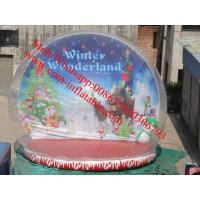 Wholesale xmas inflatable snow globe from china suppliers