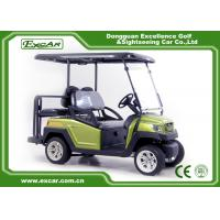 China Green EXCAR Electric Golf Car 3 Or 4 Seater 48V ADC Motor CE Approved on sale