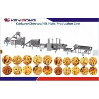 Wholesale KS -76 Snacks Production Machines , Snacks Frying Machine For Kurkure Producing from china suppliers