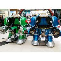 China Walking Robot Shape Kiddie Bumper Cars Customized Color For Shopping Mall on sale