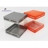 Wholesale Super Clear Small Plastic Packaging Boxes, Plastic Retail Boxes Square Shape from china suppliers