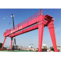China Double Girder 1~50T Rail Gantry Crane Safe Operating For Workshop on sale