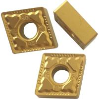 Wholesale CNMG Yellow And Black Coated CNC Turning Inserts For Machnical Parts Semi Finish Process from china suppliers