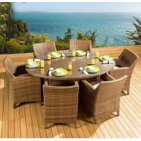 Wholesale Modern PE Rattan wicker chair Outdoor garden furniture Dining chair and Coffe table from china suppliers