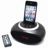 Wholesale Apple Docking Clock Radio with FM Radio and Clock Alarm from china suppliers