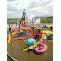 Water Park Playground Adults Fiberglass Pool Tube Slide For Holiday Resort