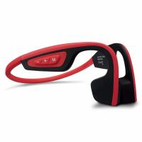 Wholesale Wireless Bone Conduction Bluetooth Headset Waterproof Stereo Neck-strap Headphone  NFC Hands-free Earphone from china suppliers