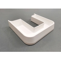 Buy cheap Custom Machining Injection Molding Small UV Resistant white Matte ABS Plastic from wholesalers