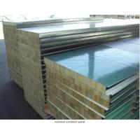 China Keba Insulation Rock Wool with Steel Sheet on sale