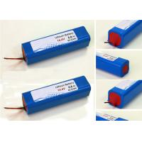 Wholesale Blue Highest Capacity 18650 Battery 14.4V , Custom Battery Packs With 20A Discharge Current from china suppliers