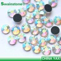 Buy cheap crystal AB hot fix rhinestone;hot fix rhinestone crystal AB;AB hot fix crystal from wholesalers