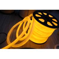 Wholesale modern 360 degree round yellow 220v neon flex light 25mm ip67 for outdoor from china suppliers