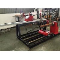 China CNC Portable Metal Plasma Cutting Machine For Round Tubes And Square Pipes for sale